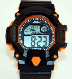 Jiaji Orange Randam Colours Available Combo Watch Pcs Of 2 - For Boys & Girl - W66