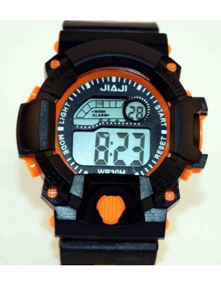 Jiaji Orange Randam Colours Available Combo Watch Pcs Of 2 - For Boys & Girl - W66