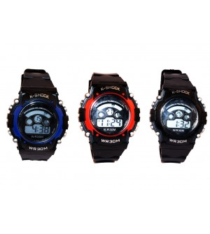 K-Shock Sports Watch - For Boys & Girls - Best Compo Pack Of 3 - W6773