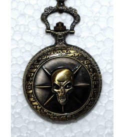 QUARTZ Danger Gandhi Style Pocket Watch Chain W20